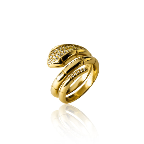 VIPER GOLD RING