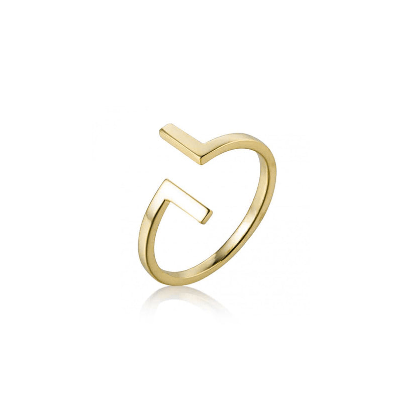 ANILLO TWIST GOLD