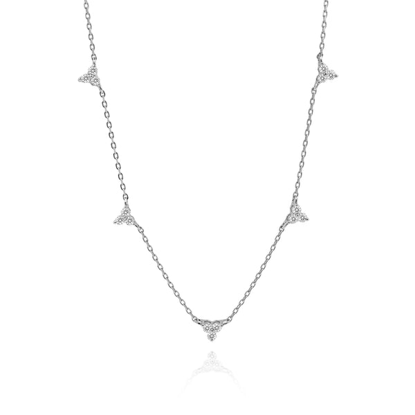 WENDY SILVER NECKLACE