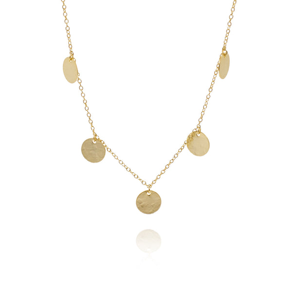 COINS GOLD NECKLACE