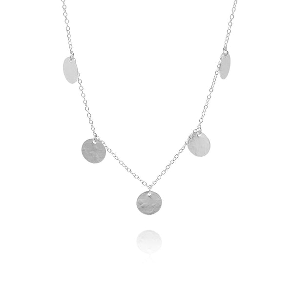 COINS SILVER NECKLACE