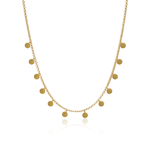 COLLAR DELILAH GOLD