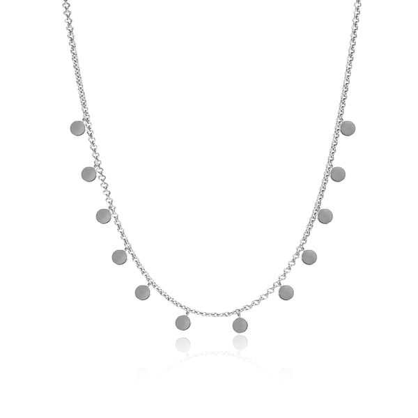DELILAH SILVER NECKLACE