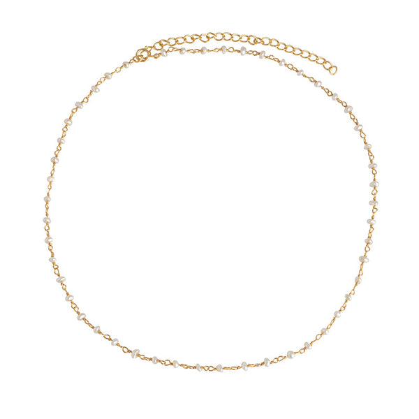 COLLAR PEARL GOLD