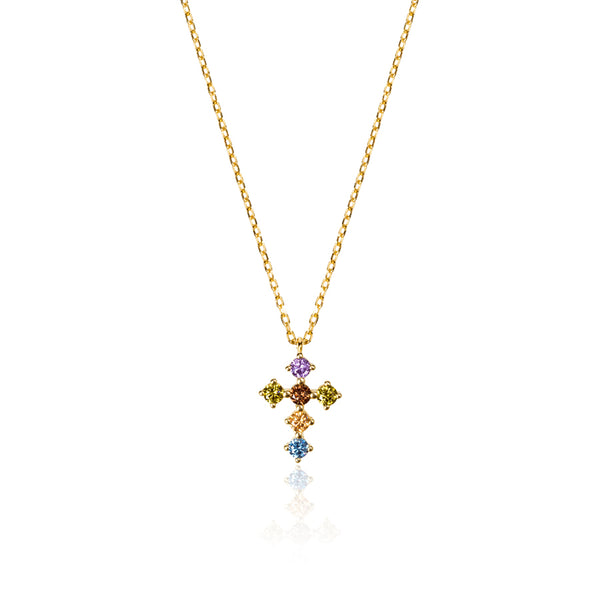 COLLAR CROIX GOLD
