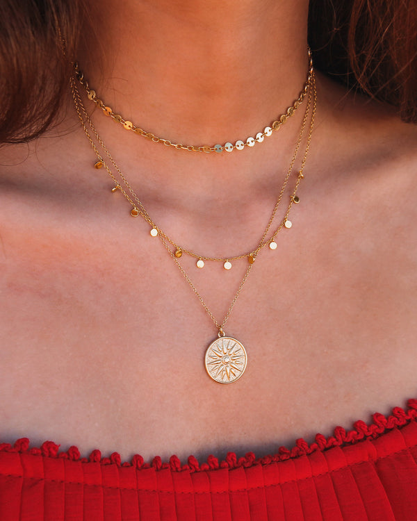 DELILAH GOLD NECKLACE