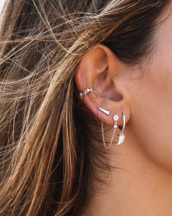JANET SILVER EARRINGS