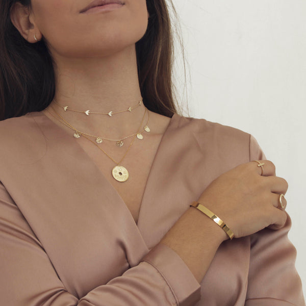 COLLAR LUNAS GOLD