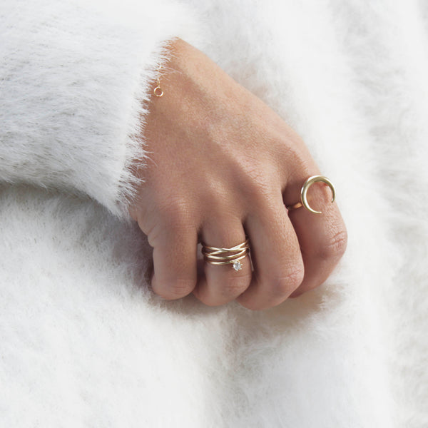 ANILLO LILY GOLD