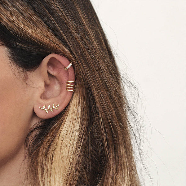 MEGAN GOLD EAR CUFF