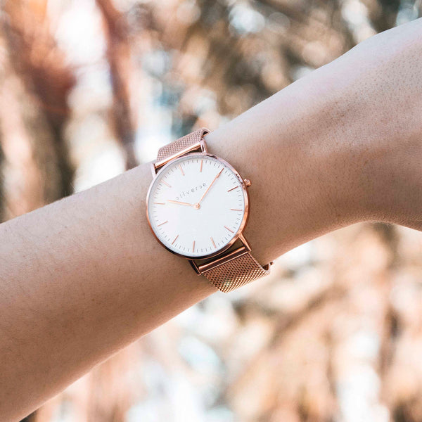 EMPIRE ROSE GOLD WATCH