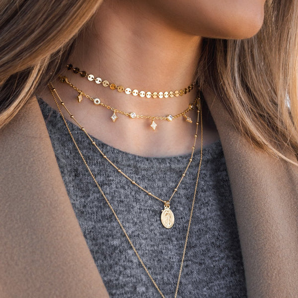 AGATHA GOLD NECKLACE