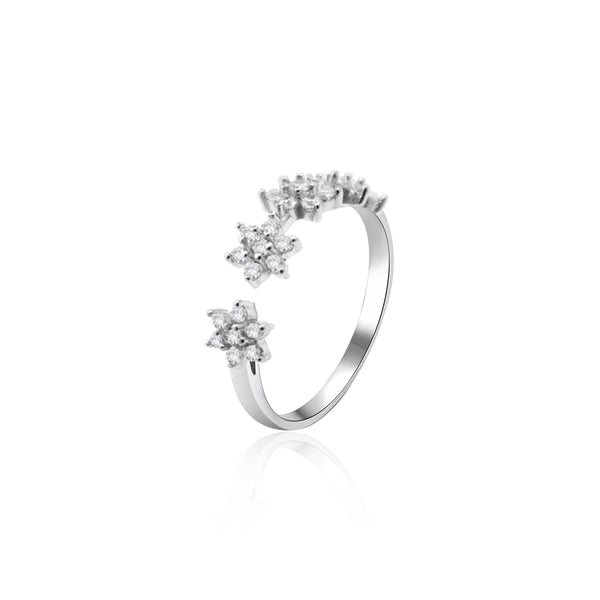 AUDREY SILVER RING