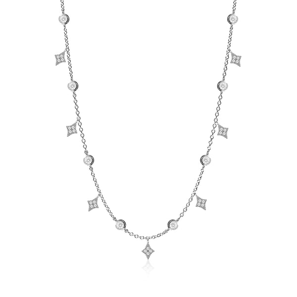 AGATHA SILVER NECKLACE
