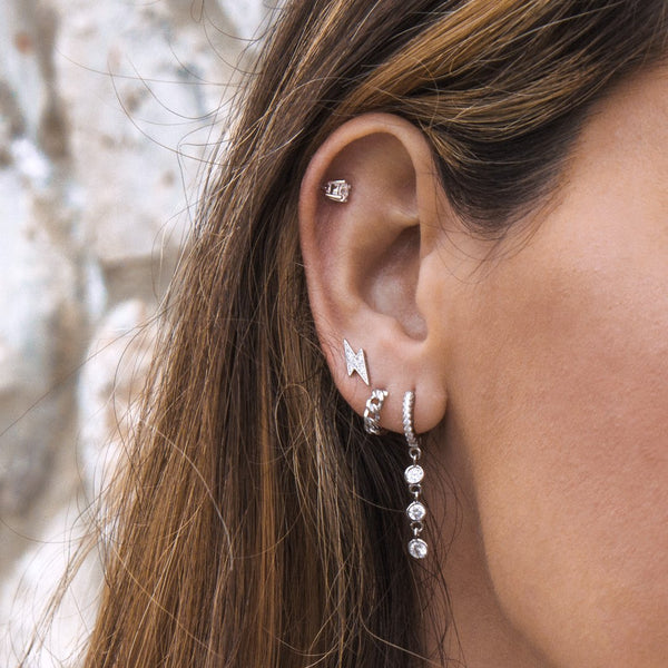 PENDIENTES CARRIE SILVER
