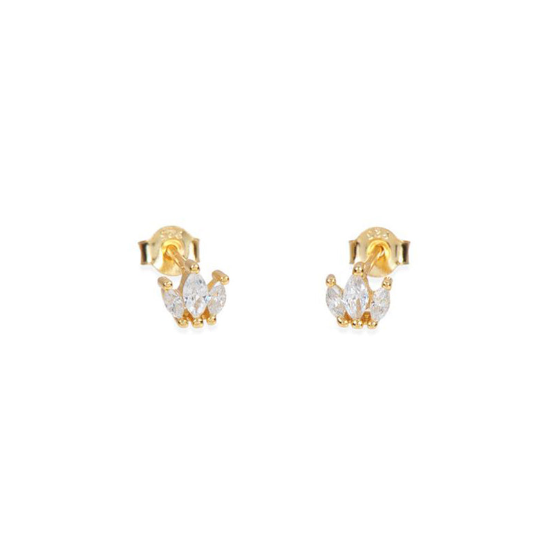 PENDIENTES CROWN GOLD