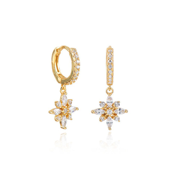 NADINE GOLD EARRINGS