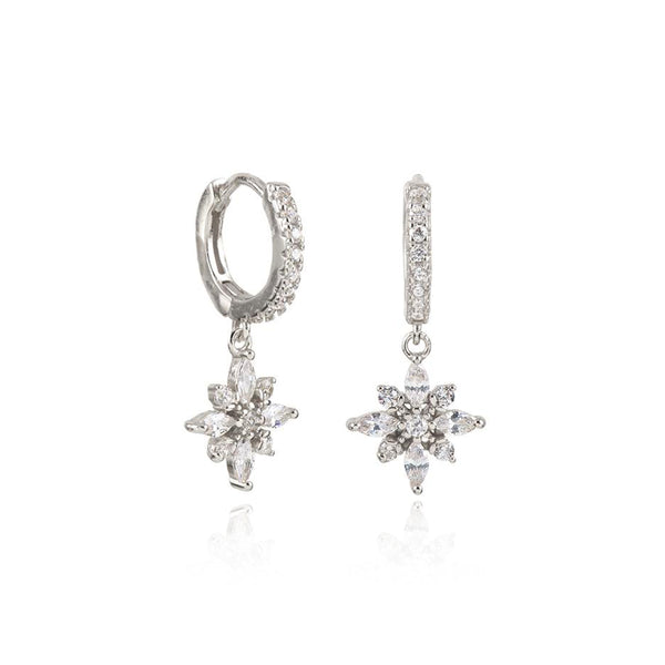 NADINE SILVER EARRINGS