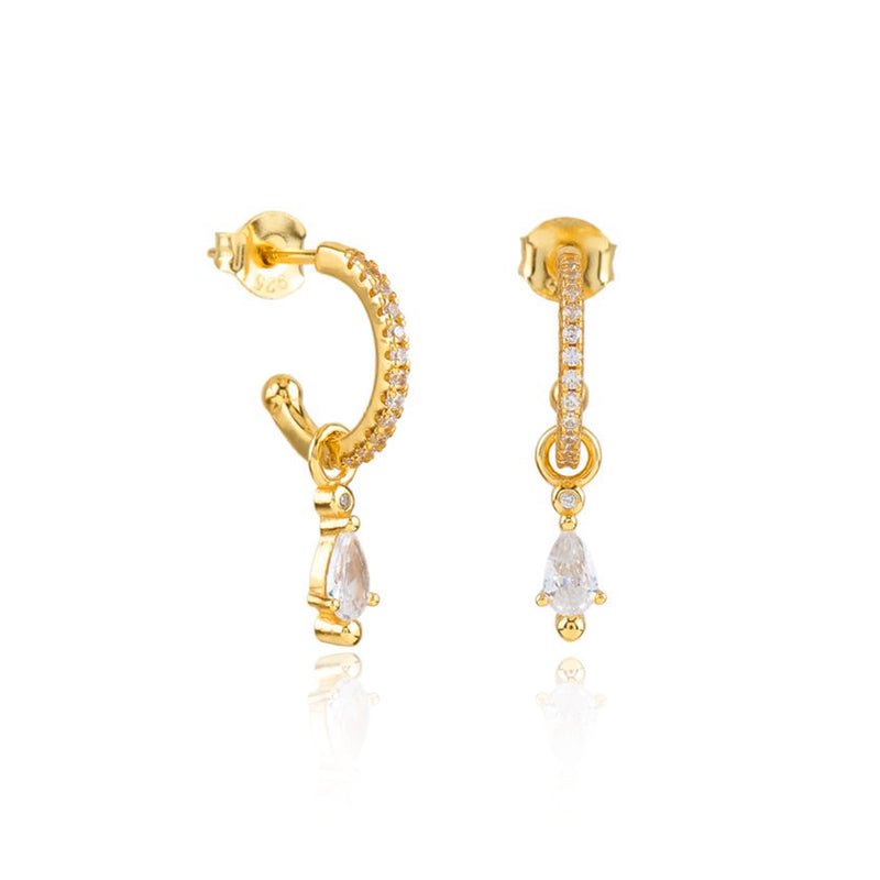 PENDIENTES SHIRLEY GOLD