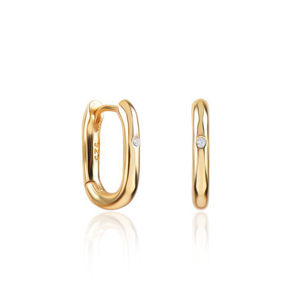 HARUKO GOLD EARRINGS