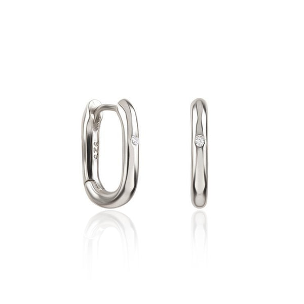 HARUKO SILVER EARRINGS