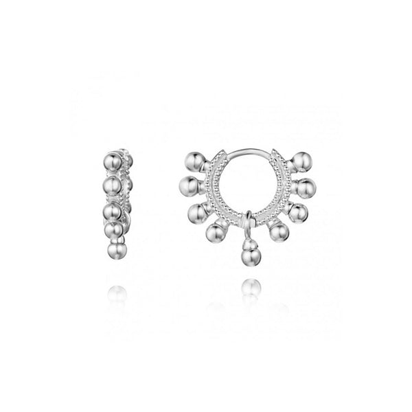AMALFI SILVER EARRINGS