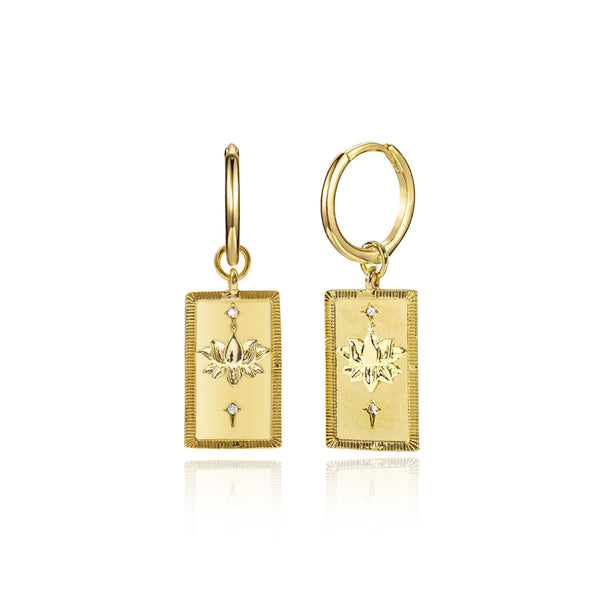 LOTO GOLD EARRINGS