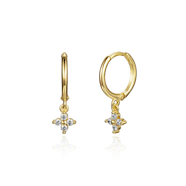PENDIENTES COURTNEY GOLD