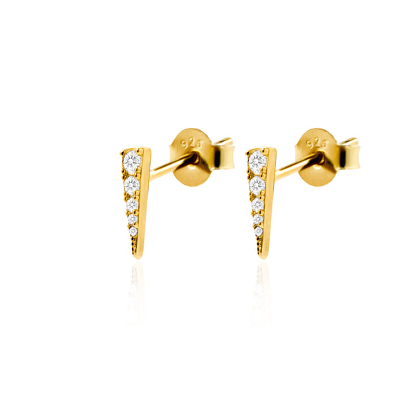 PENDIENTES SHARP GOLD