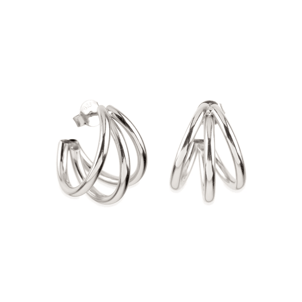 HIKARI SILVER EARRINGS