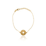 PULSERA COMPASS GOLD