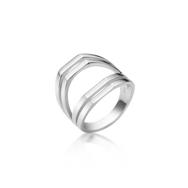 CLARY SILVER RING