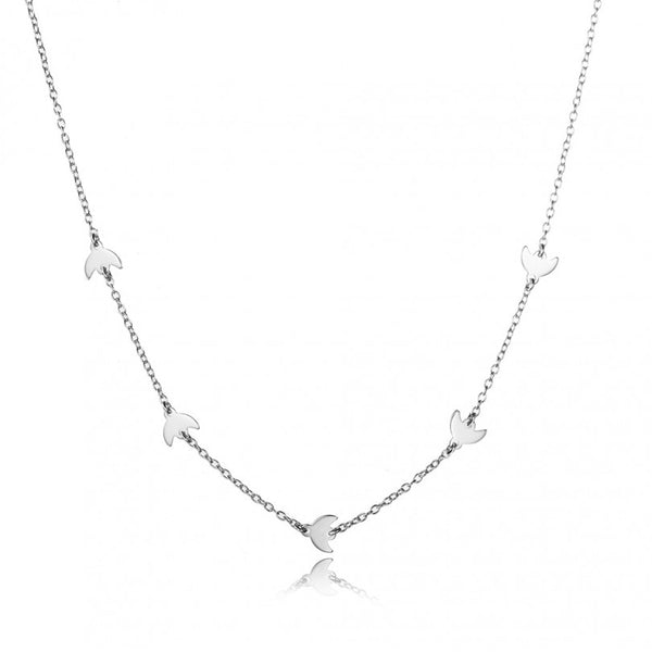 LUNAS SILVER NECKLACE
