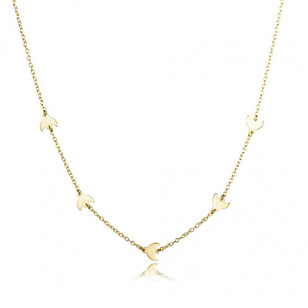 LUNAS GOLD NECKLACE