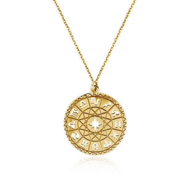 COLLAR HOROSCOPE GOLD