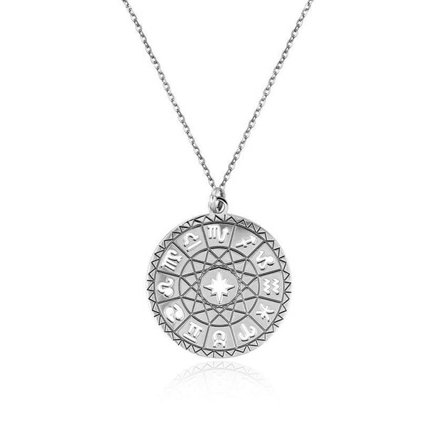HOROSCOPE SILVER NECKLACE