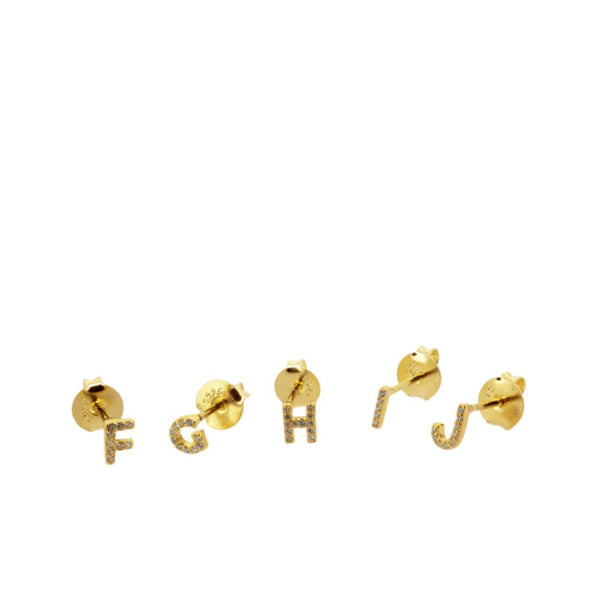 INICIAL GOLD EARRINGS