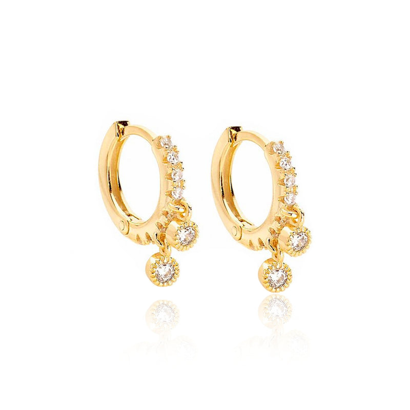PENDIENTES HOLLY GOLD