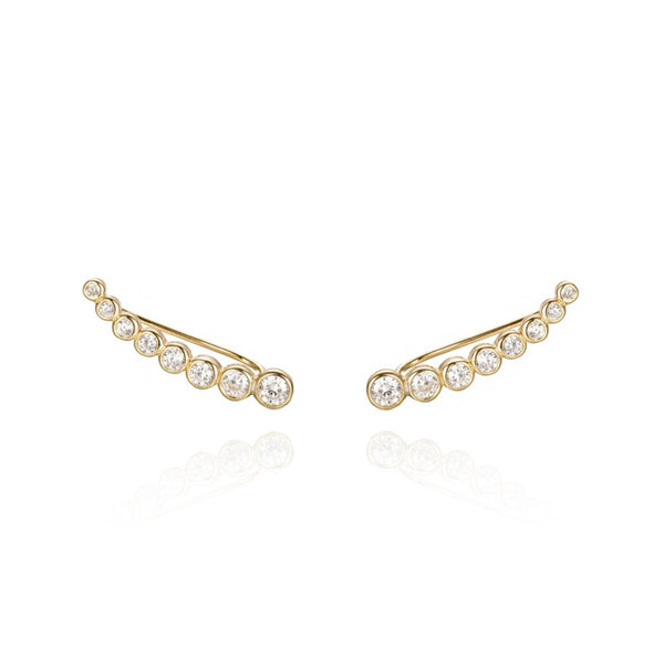 ATHENEA GOLD EARRINGS