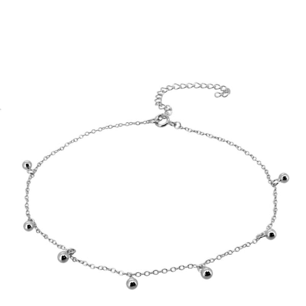 ISA SILVER ANKLET