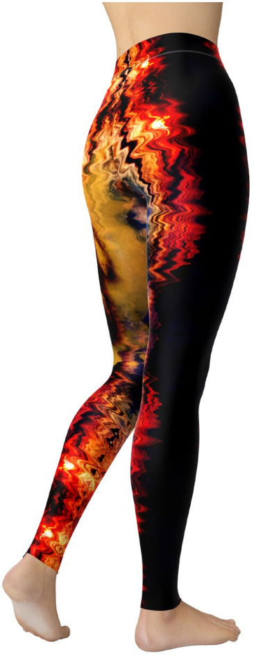 Native Pride - Indian Face Leggings - NiftyLooks