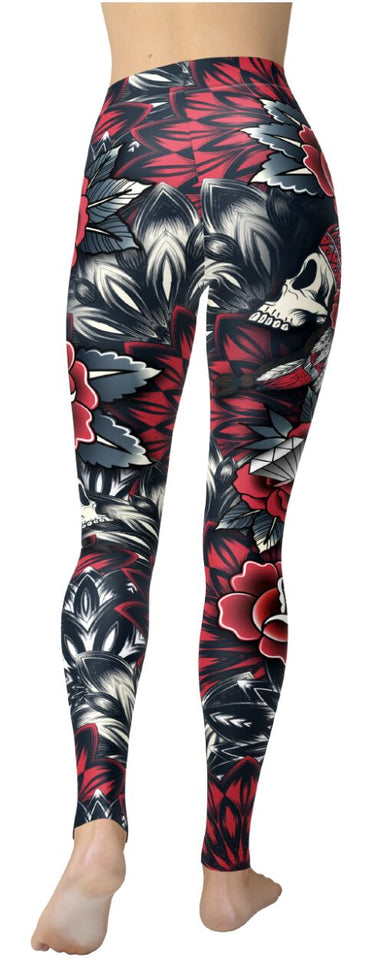 Indian Skull Leggings - NiftyLooks