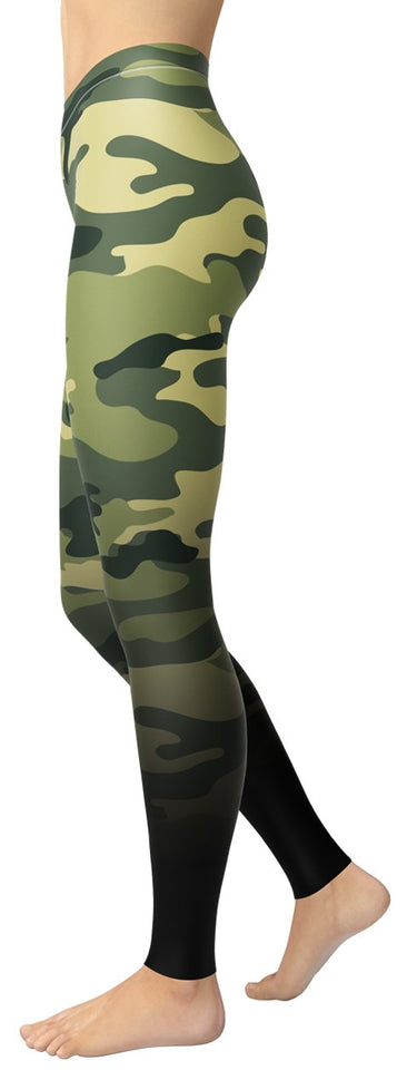 Fading Camo Leggings - NiftyLooks
