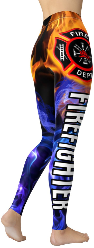 Firefighter Leggings - NiftyLooks