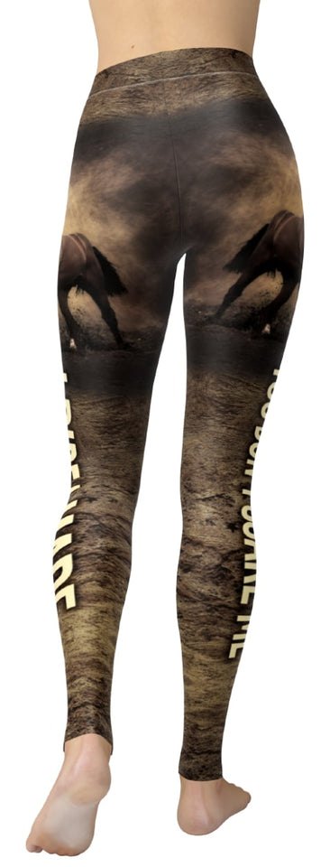 Horse Riding - I Ride A Mare Leggings - NiftyLooks