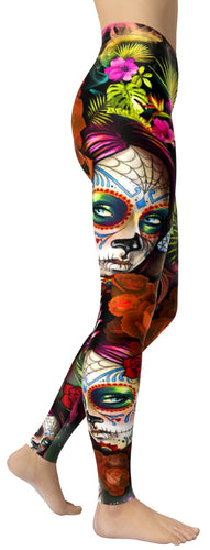 Mexican Girl Leggings - NiftyLooks