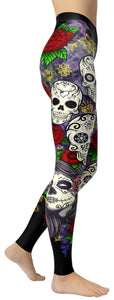 Mexican Godess Leggings - NiftyLooks