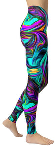 Hypnotic Dream V.3 Leggings - NiftyLooks
