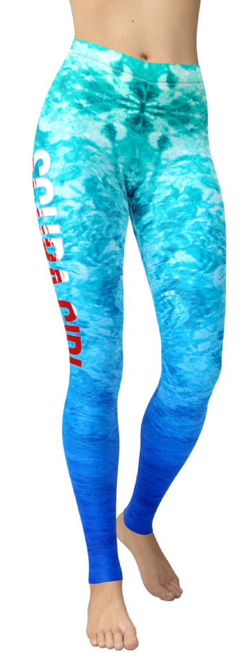 Scuba Girl Leggings - NiftyLooks
