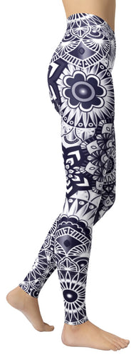 Seductive Mandala Leggings - NiftyLooks